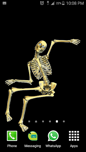 Skeleton Live wallpaper 1 screenshots 1