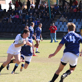 on the run by Christiaan Bossert - Sports & Fitness Rugby (  )