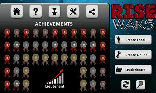 Rise Wars (strategy & risk)  screenshots 2