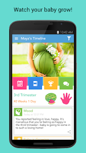 Ovia Pregnancy & Baby Tracker- screenshot thumbnail