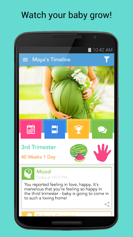 Ovia Pregnancy & Baby Tracker- screenshot