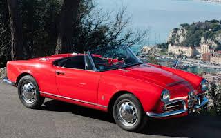 Alfa Romeo Spider Giulia Rent Provence-Alpes-Côte d'Azur