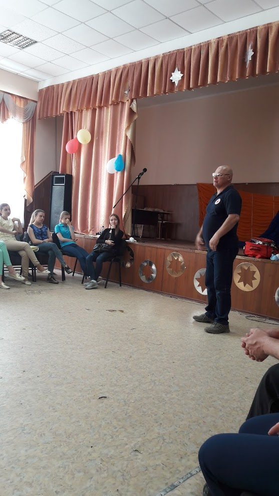 Курс Товариства Червоного Хреста України по наданню першої допомоги