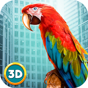 City Bird Parrot Simulator 3D for PC and MAC