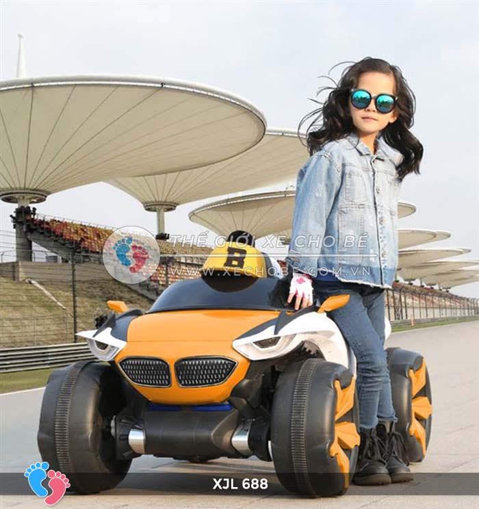 Xe ô tô điện địa hình cho bé XJL-688 4