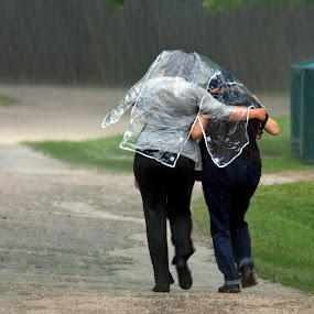 Sharing Cover by David Clare - People Street & Candids ( friends, nature, weather, black creek, rain,  )