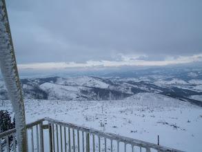 Photo: Widoki z wieży na szczycie Baraniej Góry
