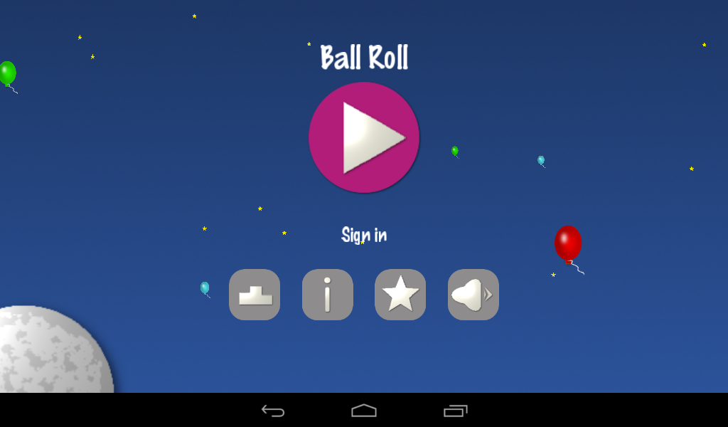 Ball Roll - by Bleny App- screenshot