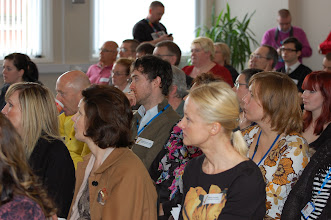 Photo: The audience were glued to the presentation