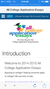 all college application essays android apps on google play all college application essays screenshot thumbnail