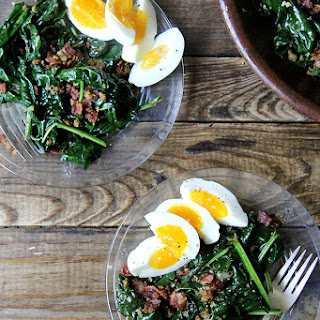 Alice Waters' Warm Spinach Salad.