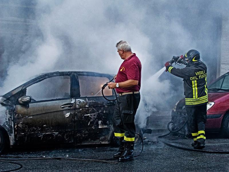 Il fuoco la distrutta di Fiorenza Aldo Photo