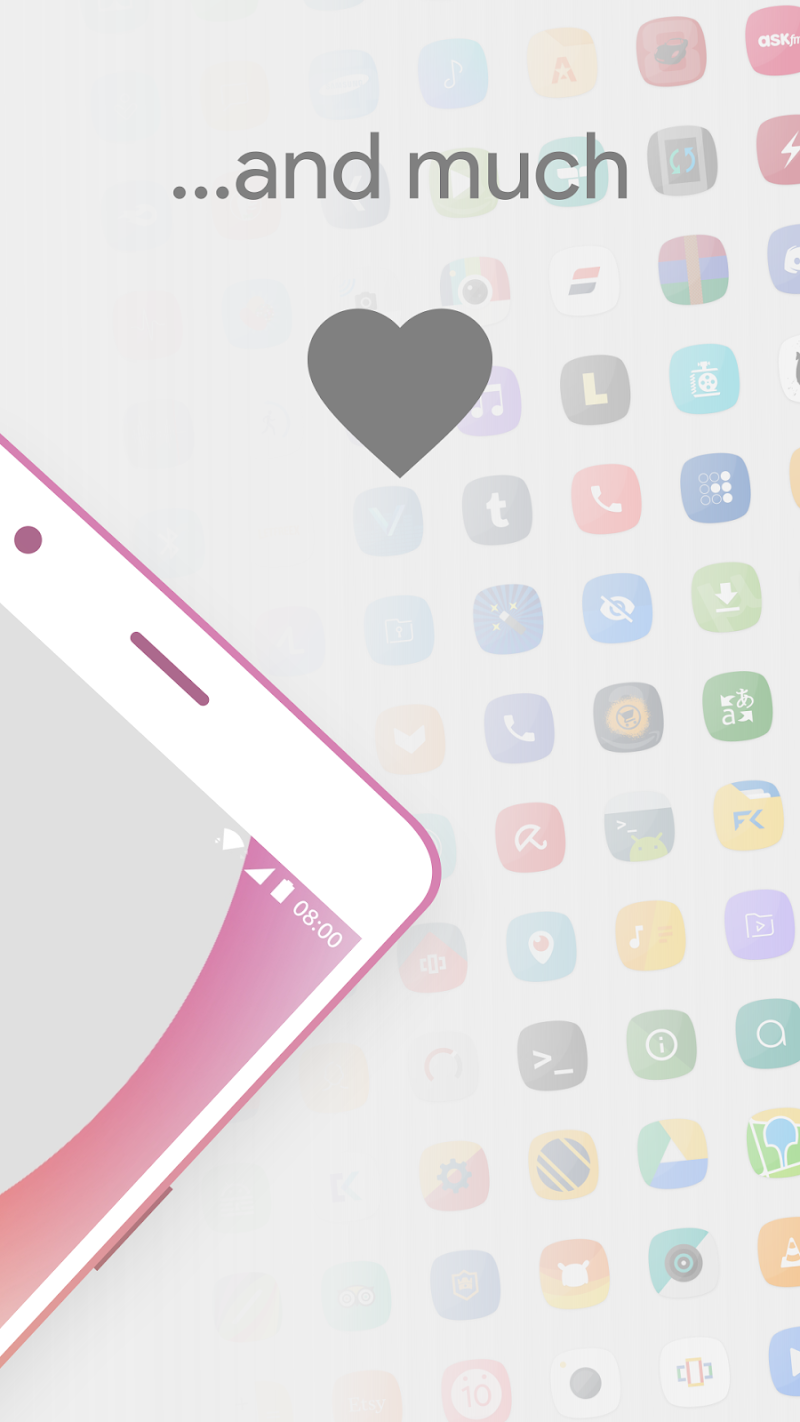 Talitha Squircle - Icon Pack Screenshot 3