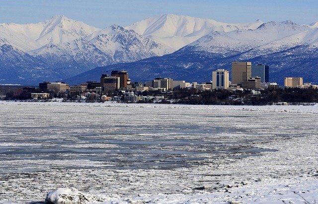 Anchorage, AK Skyline