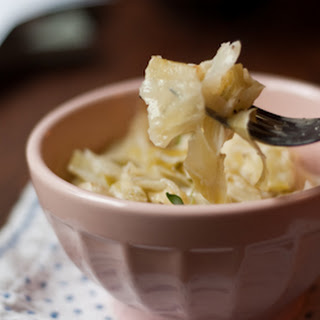Creamy Baked Cabbage