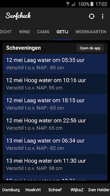 Surfcheck - surf app - screenshot