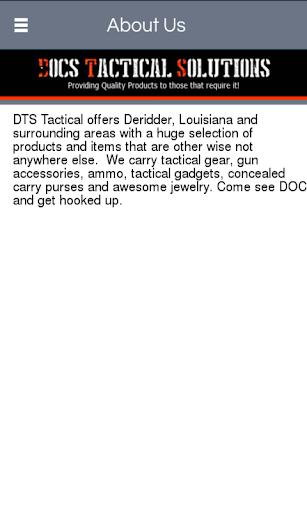 DTS Tactical