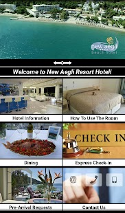 New Aegli Hotel Poros- screenshot thumbnail