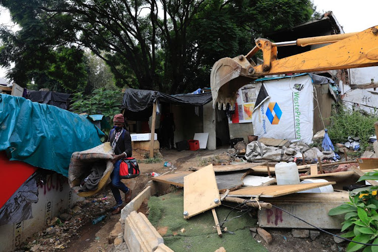 The evictions came after 21 Bompas Road became a problem property in 2017.