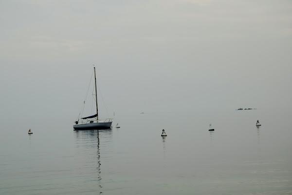barca a vela sul lago di DiegoCattel
