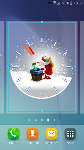 聖誕老人 模擬時鐘