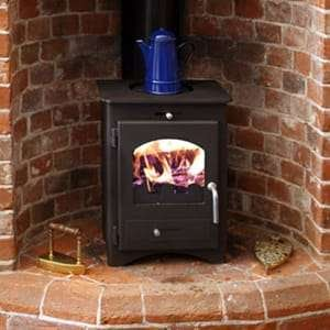 An image of a bohemian multi fuel stove