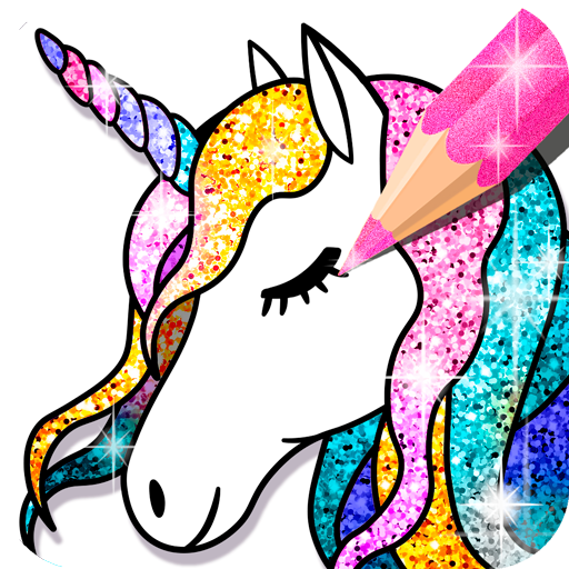 Unicorn Coloring Book Glitter Google Play De Uygulamalar