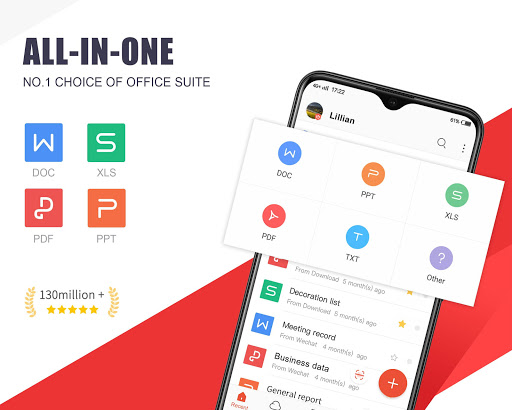 WPS Office - Free Office Suite for Word,PDF,Excel screenshot 1