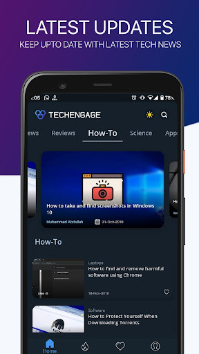 Download TechEngage - Best Tech News, Guides, and Reviews 1.0.9 1