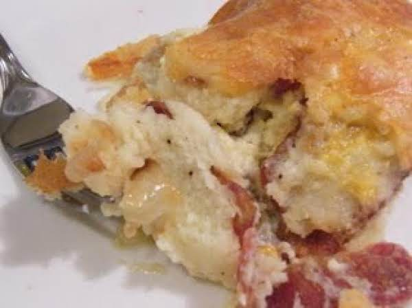 Fluffy Oven Eggs And Bacon Recipe
