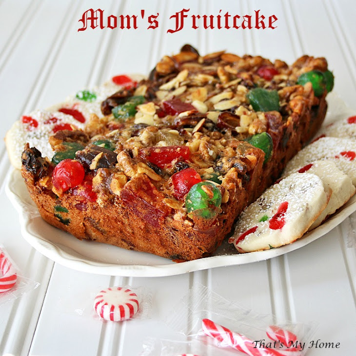 Mom'S Fruitcake Recipe