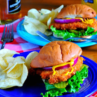 Classic Breaded Pork Tenderloin Sandwich.