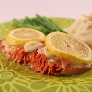 Lemon Garlic Salmon.