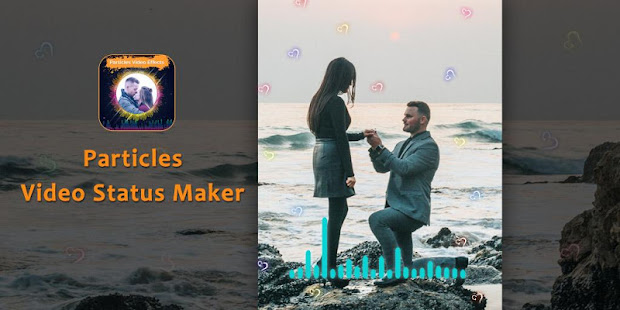 Download Particles Video Status Maker - Musical Wave Beats For PC Windows and Mac apk screenshot 2
