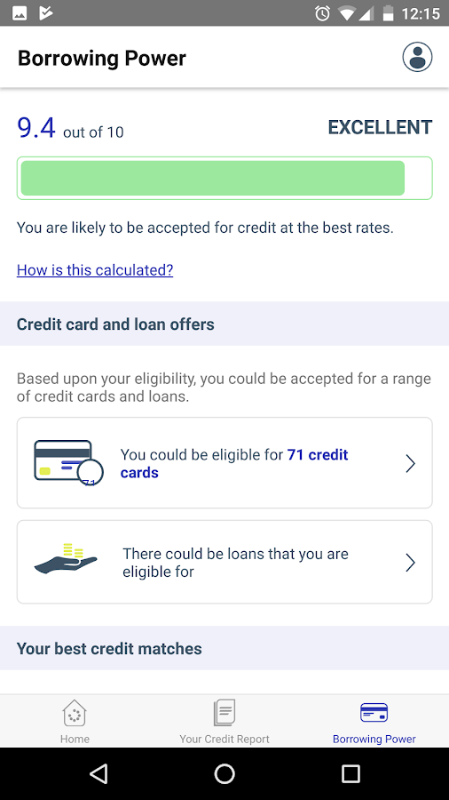TotallyMoney: Check your credit score and report- screenshot