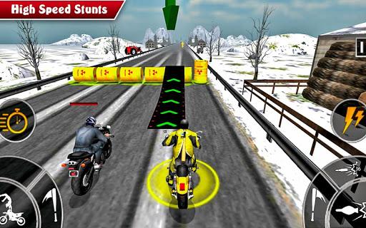 Moto Bike Attack Race 3d games  screenshots 3