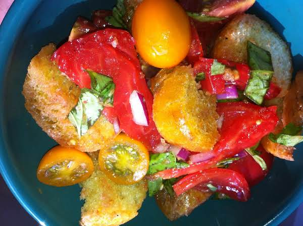 Tomato-and-bread Salad Recipe