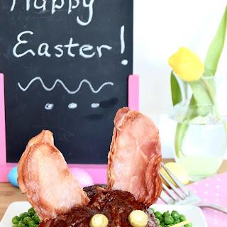 Easter Bunny BBQ Meatloaf
