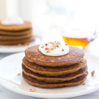 Gluten-free Pumpkin Pie Pancakes