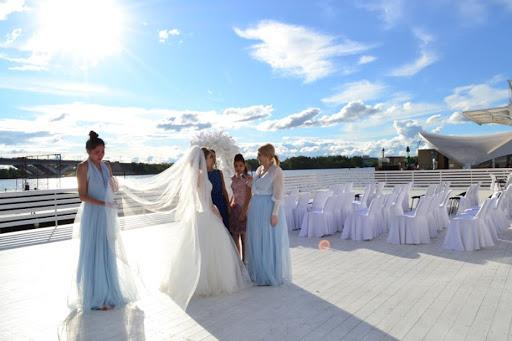 шатер для свадьбы в «Яхт-клуб «Адмирал»»