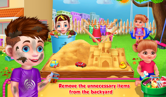 Baby Diana's House Cleaning- screenshot thumbnail