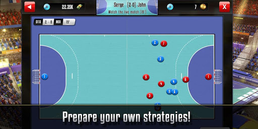 Handball Manager - screenshot