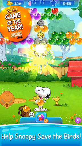 Snoopy Pop - Free Match, Blast & Pop Bubble Game  mod screenshots 1