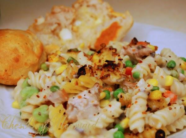 Confetti Tuna Cassarole Recipe