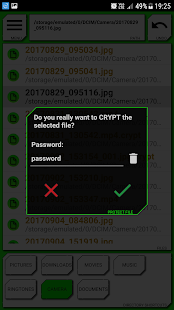 Protect File Pro -Lock and Send File -En/De Crypt Screenshot
