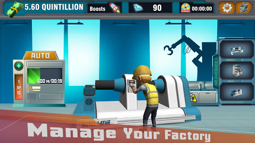 Factory Tycoon : Idle Clicker Game 0.4 screenshots 8