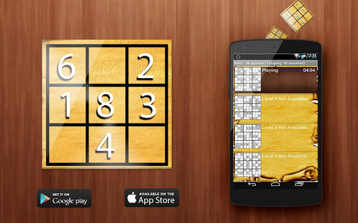 Sudoku Game Levels
