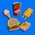 Memory Game For Kids-Fast Food icon