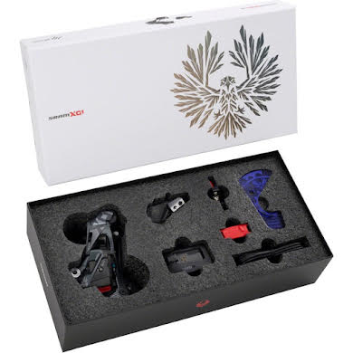 SRAM X01 Eagle AXS Upgrade Kit - Rear Derailleur, Battery, Eagle AXS Controller w/ Clamp, Charger/Co
