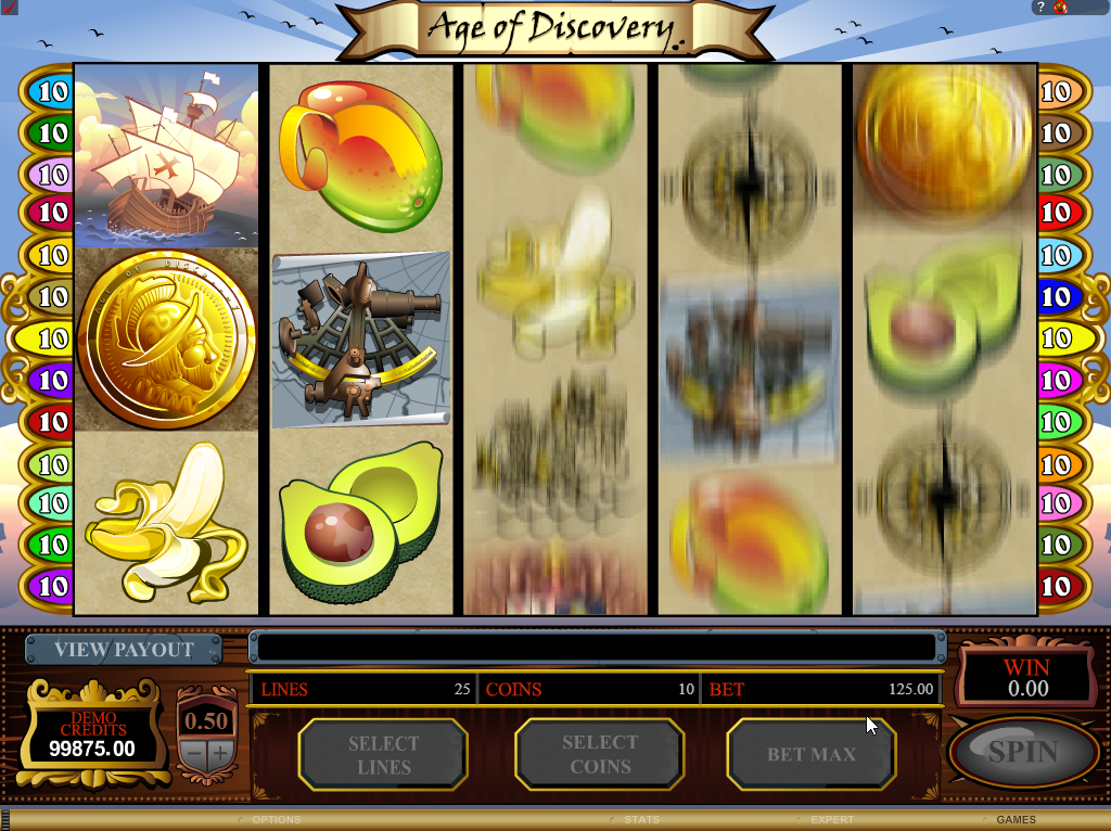Age of Discovery Slots Game Review